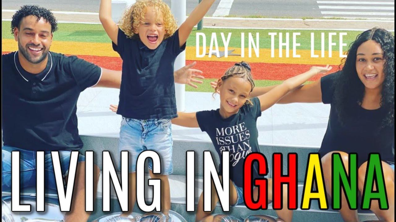 LIVING IN GHANA WITH KIDS | A DAY IN THE LIFE OF RETURNEES THE ACHEMPONG FAMILY