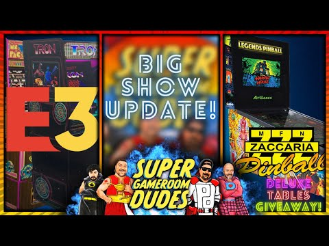 Arcade1Up E3 2021 Leaks!  Zaccaria Deluxe Tables Giveaway! iiRcade, Evercade VS & MORE! from Detroit Love