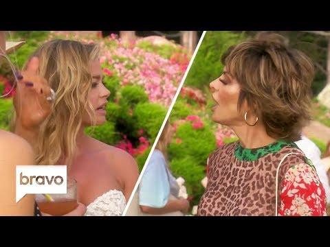 Denise Richards & Lisa Rinna Dated The Same Actor At The Same Time | RHOBH | Bravo
