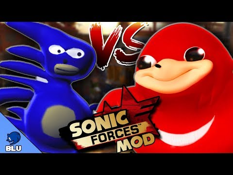 Sonic Forces MOD: Uganda Knuckles VS. SANIC - En Español