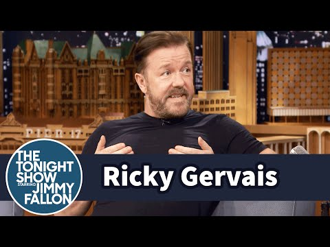 Thumbnail: Ricky Gervais Attempts the Most Impressions in 30 Seconds