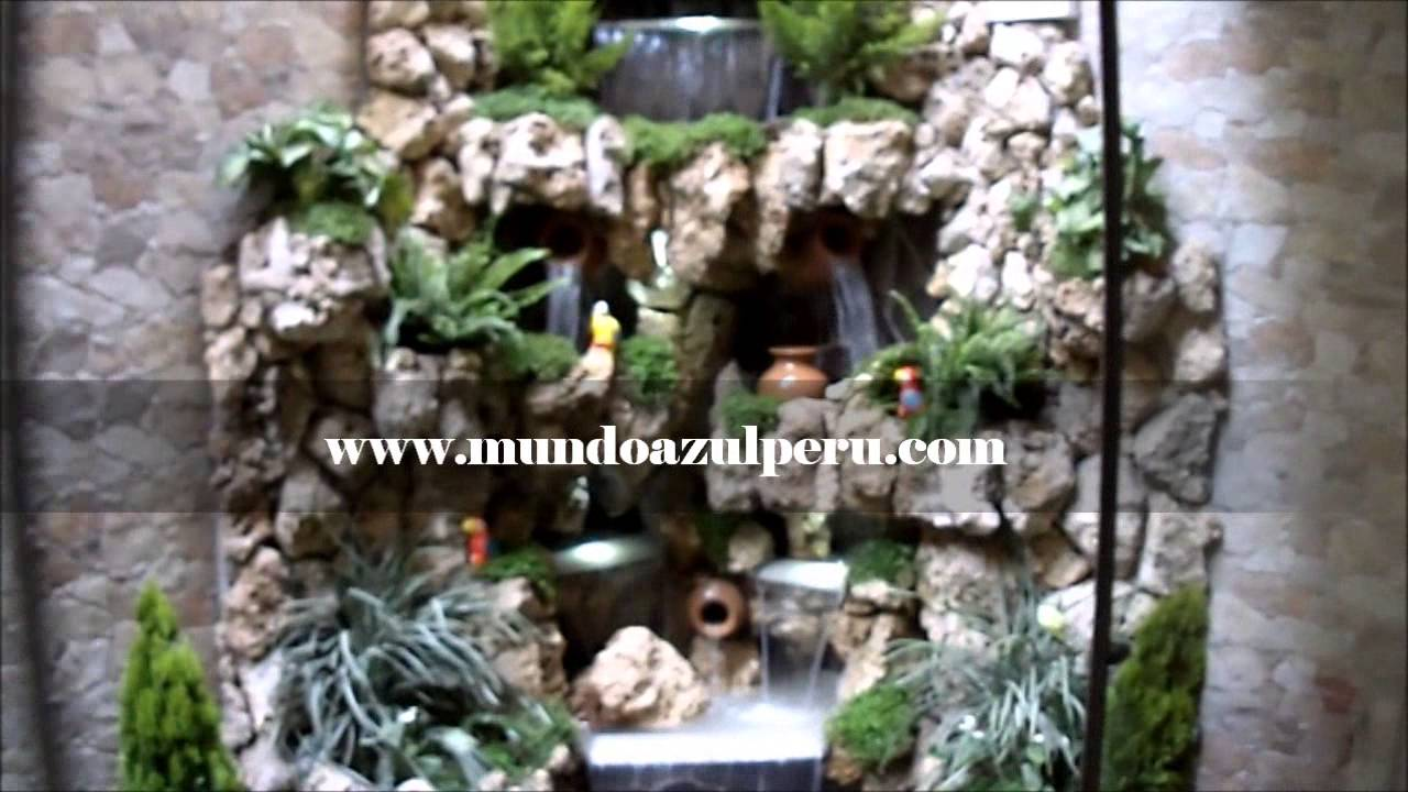 Cascada en piedra natural - Peceras de diseno ...