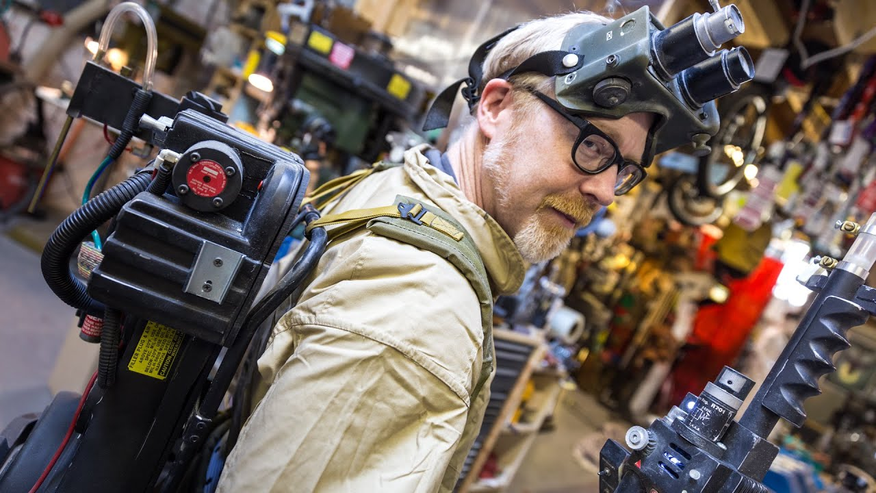 Robot Girl Wallpaper Adam Savage S Ghostbusters Costume Youtube