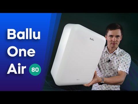 Ballu OneAir 80. Приточный очиститель воздуха. Бризер Балу.