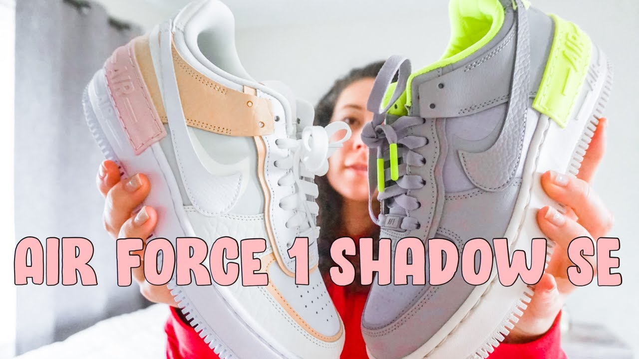 Nike Airforce 1 Shadow Se Review On Foot Youtube
