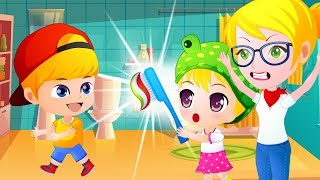 Jan Cartoon | Learn with Tooth Brush # 36 - Colours for Kids to Learn - Kids Learning Videos