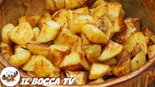 390 - Patate al forno...quando serve un gran contorno ! (patate arrosto con aglio e rosmarino)