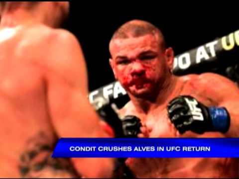 Condit crushes Alves in UFC return