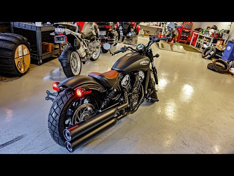 Indian Scout Bobber!! • DIY Bike & Mic Mods! | TheSmoaks Vlog_675