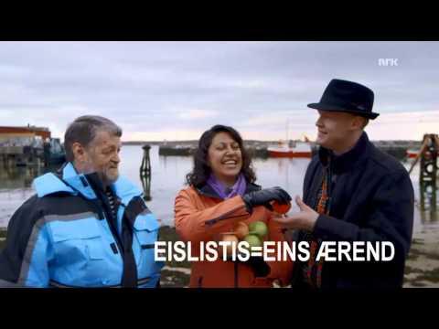 Harald Anton vanskelig dialekt