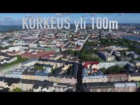Drone Testing Vol 2 - Helsinki Kaivopuisto