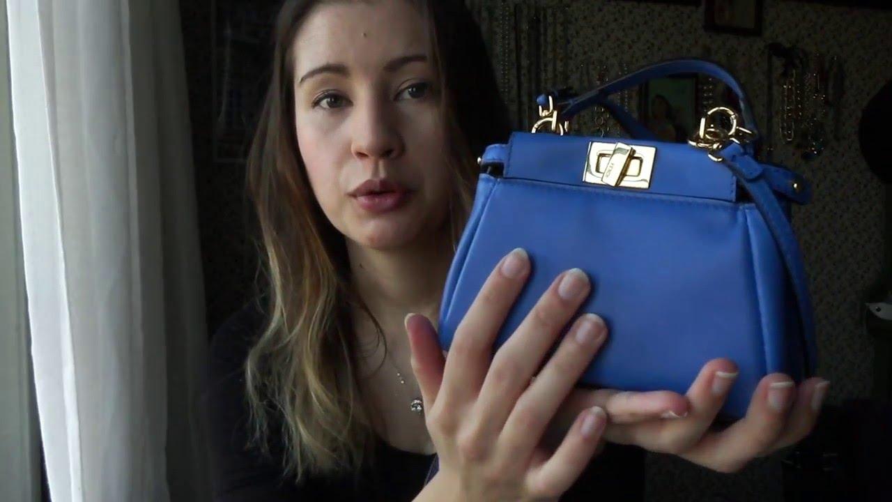 e2d06ac4a3b5 What s in my Fendi Micro Peekaboo! - YouTube