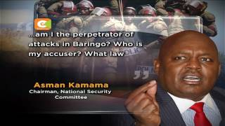Parliament to replace Kamama in security committee 'over Baringo attacks'