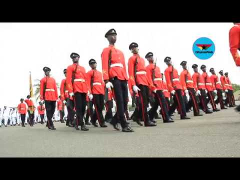 Ghana Military Academy: 2017 Graduation parade