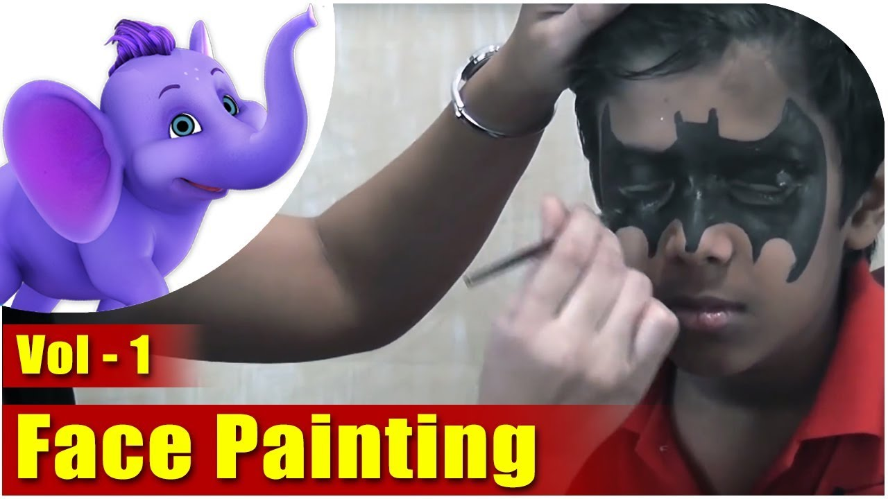 Learn How To Do Face Painting  Vol 1