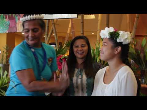 12th Festpac Floral Art in Guam