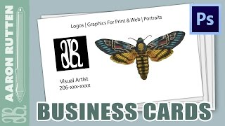 Creating Business Cards with Photoshop CC