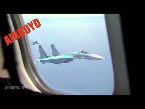 Su-27 F-16 -