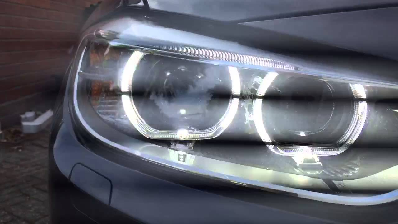 2015 Bmw F30 330d M Sport Bi Xenon Headlights Close Up