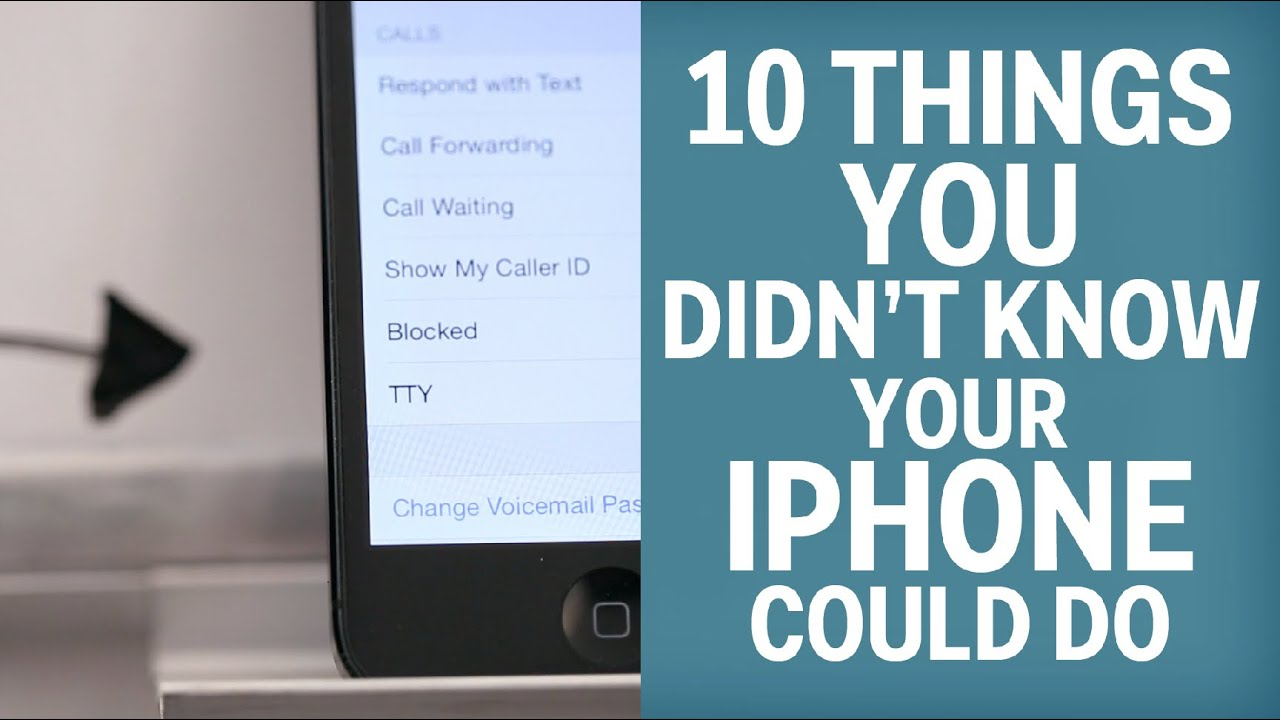 10 Things You Didnt Know Your iPhone Could Do recommendations