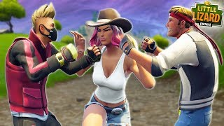 DRIFT AND DIRE FIGHT OVER CALAMITY'S SISTER!!! - Fortnite Short Film