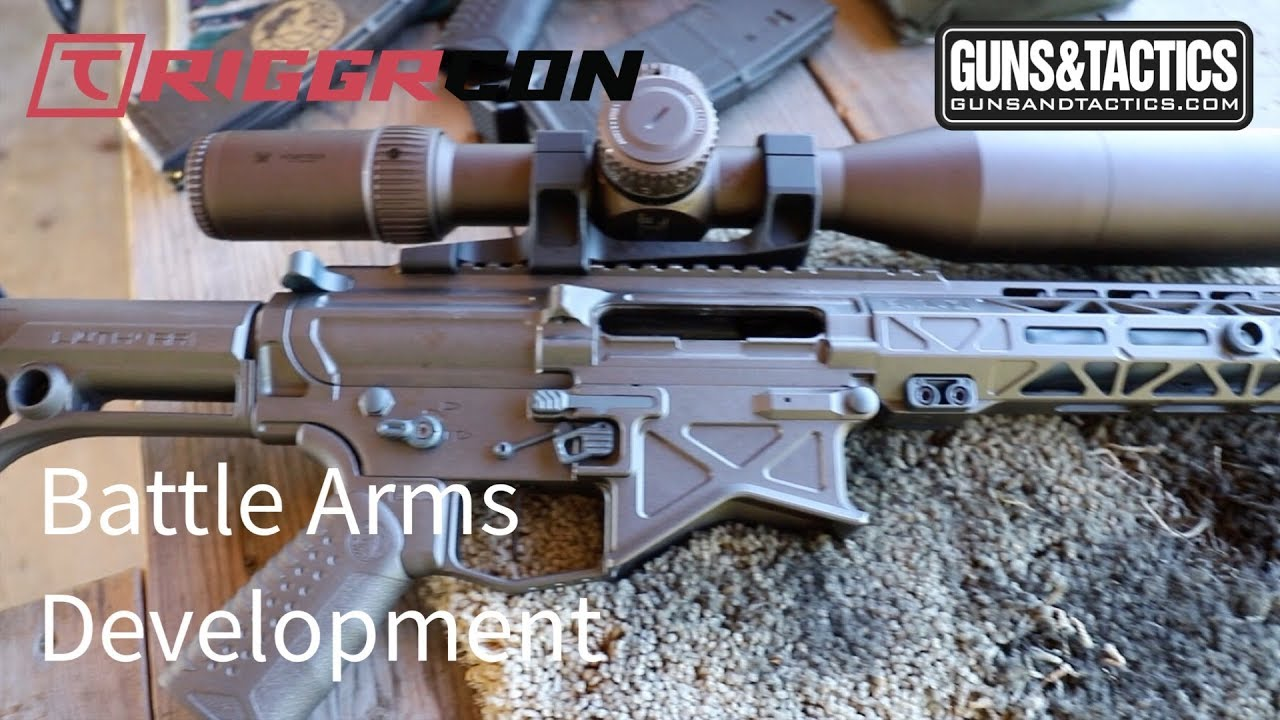 First Look at the Battle Arms 308 seen first at TRIGGRCON