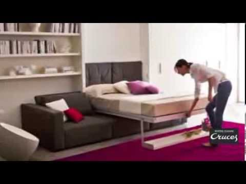 Cat logo muebles cama abatibles 2014 clei youtube - Muebles cama plegables para salon ...