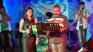 Therri Song in minnal fun club karaoke night