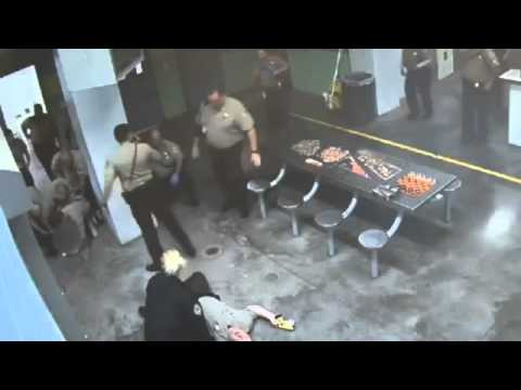 RAW Inmate Attacks Detention Officers In Maricopa County, AZ Lower Buckeye  Jail