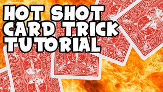 Learn Hotshot Card Production // Simple Card Flourish // Braden Carlisle