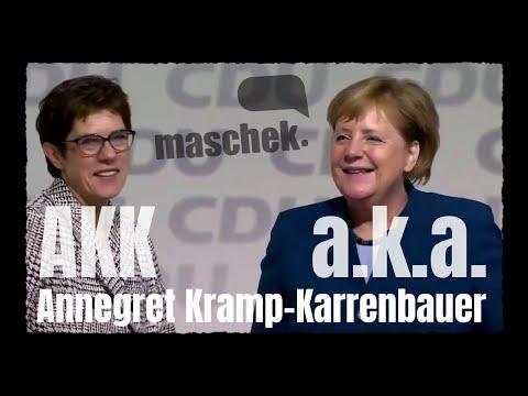 Maschek WÖ 410 AKK a.k.a. Annegret Kramp-Karrenbauer