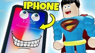 SLIP VÆK FRA IPHONEN! - Dansk Roblox: Escape the Iphone Obby