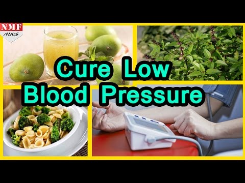 Best Home Remedies to cure LOW BLOOD PRESSURE