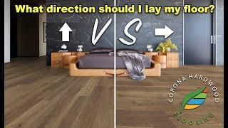 Luxury Vinyl Plank Flooring, Laminate Flooring Direction