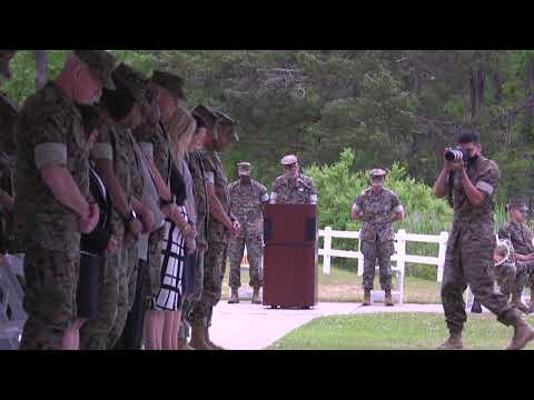 2nd Marine Expeditionary Brigade Change of Command