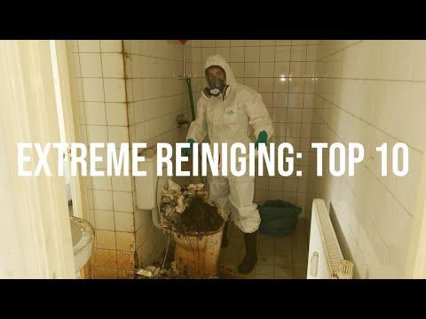 Top 10 meest extreme schoonmaakopdrachten | Frisse Kater