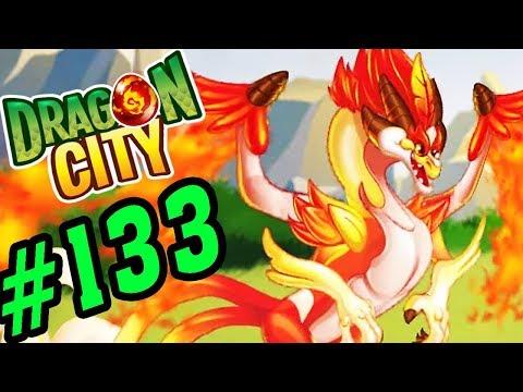 DRAGON CITY - REBIRD DRAGON ĐÔI CÁNH THẦN LỬA - GAME NÔNG TRẠI RỒNG #133