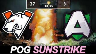Alliance vs Virtus.pro — Calculated POG Sunstrike
