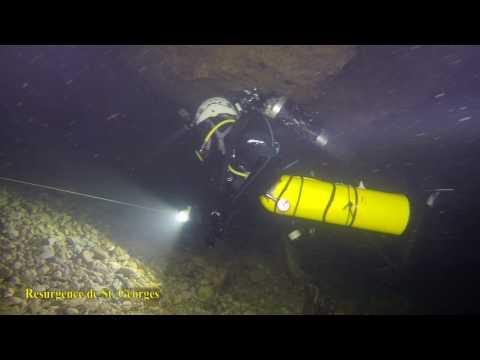 Cave Diving -  Resurgence de St. Georges - France