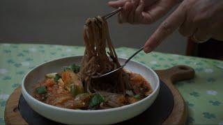 Kimchi SobaNoodle Recipe