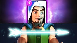 "New Card ""MYTHICAL ARCHER"" Coming Clash Royale 2018 Update"