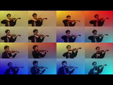 ♫ Twinkle Twinkle Little Star ♫ Violin ♫ Split Screen ♫