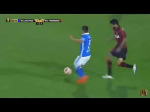 Gol de Jhon Duque - Millonarios 1 x 0 Atletico PR  - Copa Libertadores
