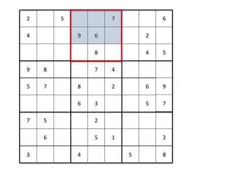 Sudoku Lesson