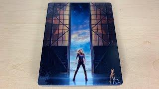 Captain Marvel - Best Buy Exclusive 4K Ultra HD Blu-ray SteelBook Unboxing