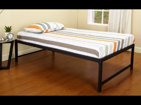 Tall Queen Bed Frame For Bedroom Interior Youtube