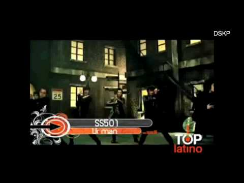 [HD] SS501 - UR MAN in TOP LATINO panamericana television PE