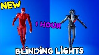 FORTNITE BLINDING LIGHTS EMOTE (1 HOUR)