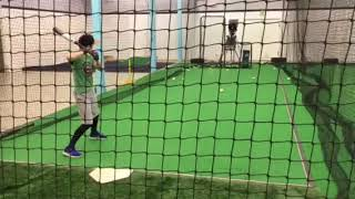 2018 Mizuno Ghost USA Bat Cage Side Hitting Review