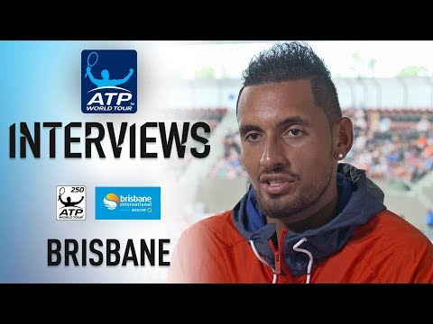 Kyrgios Looks to Jump Start 2018 In Brisbane